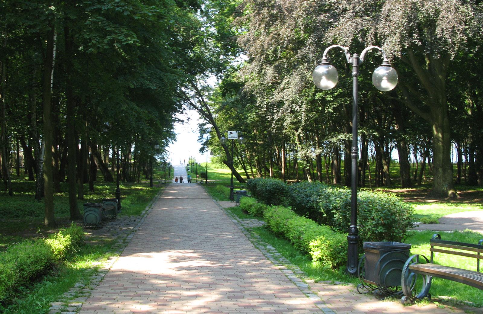 парк в Янтарном