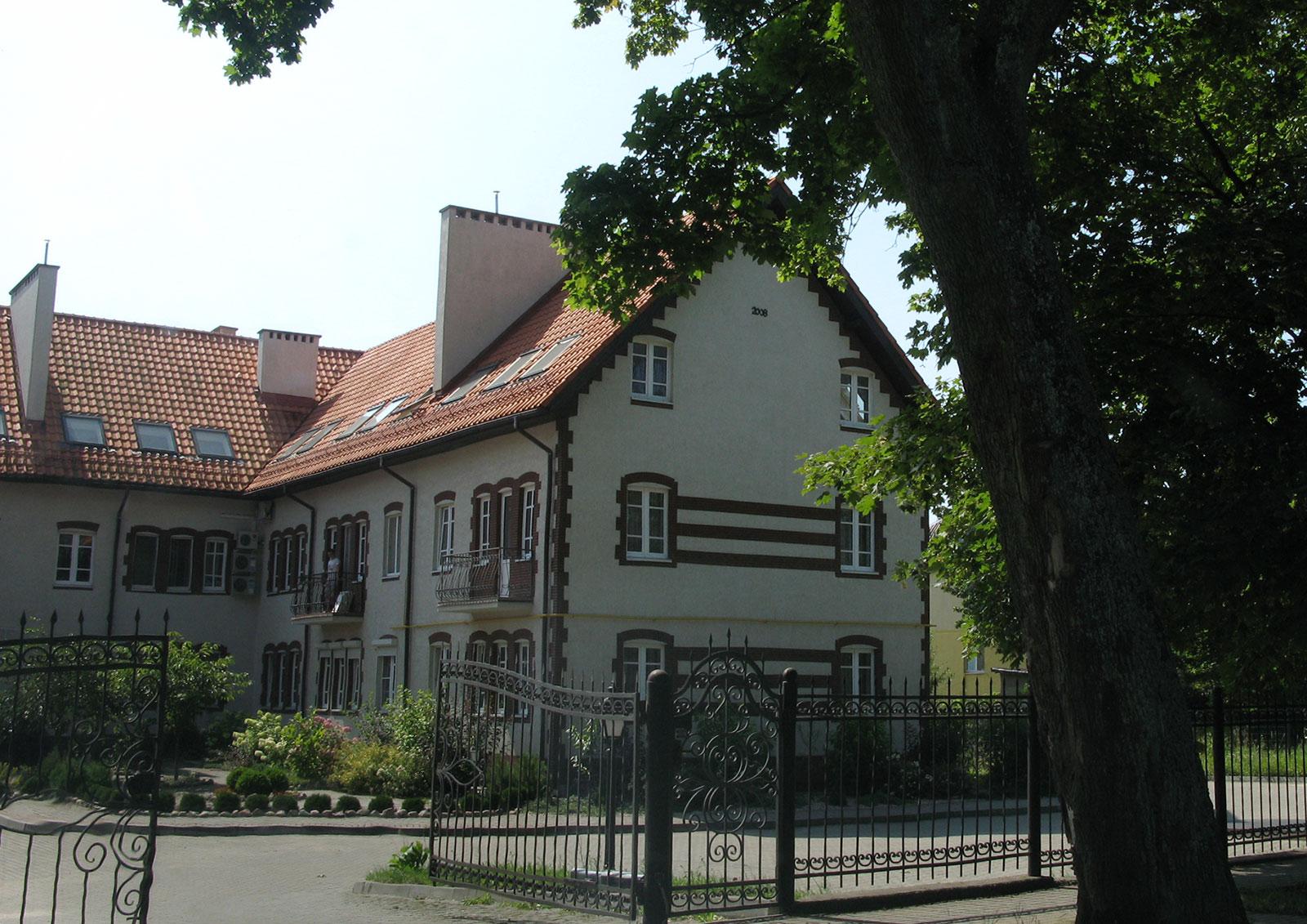 старый немецкий дом