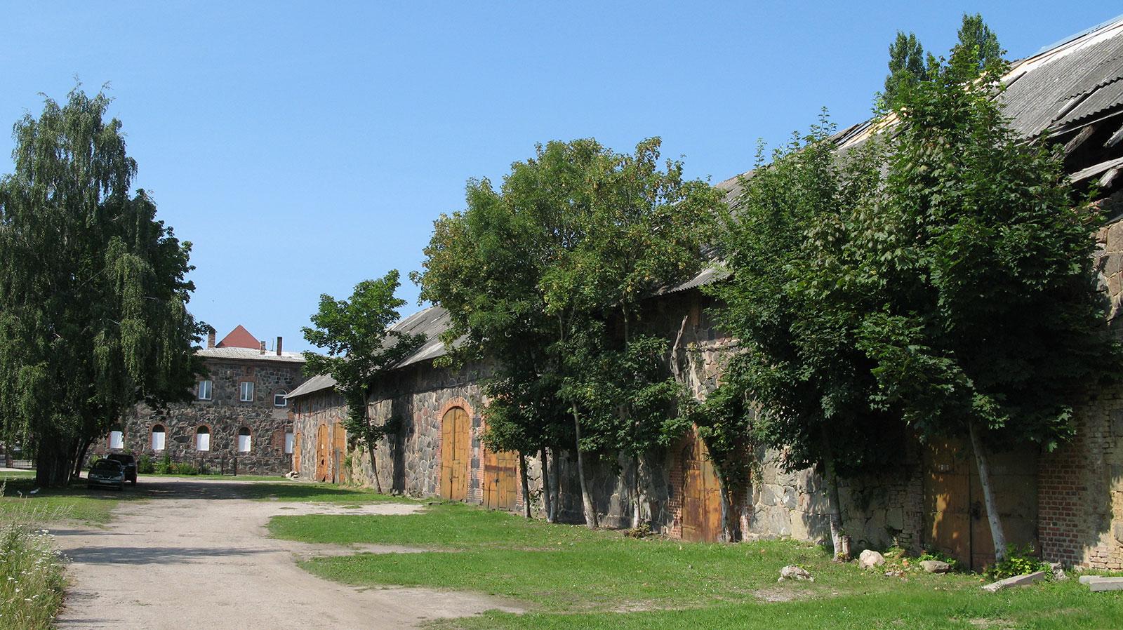 замок 14 века в Янтарном Калининградской области