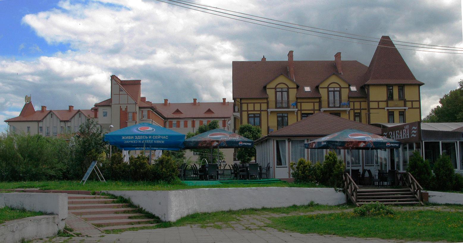 гостиницы на набережной Балтийского моря
