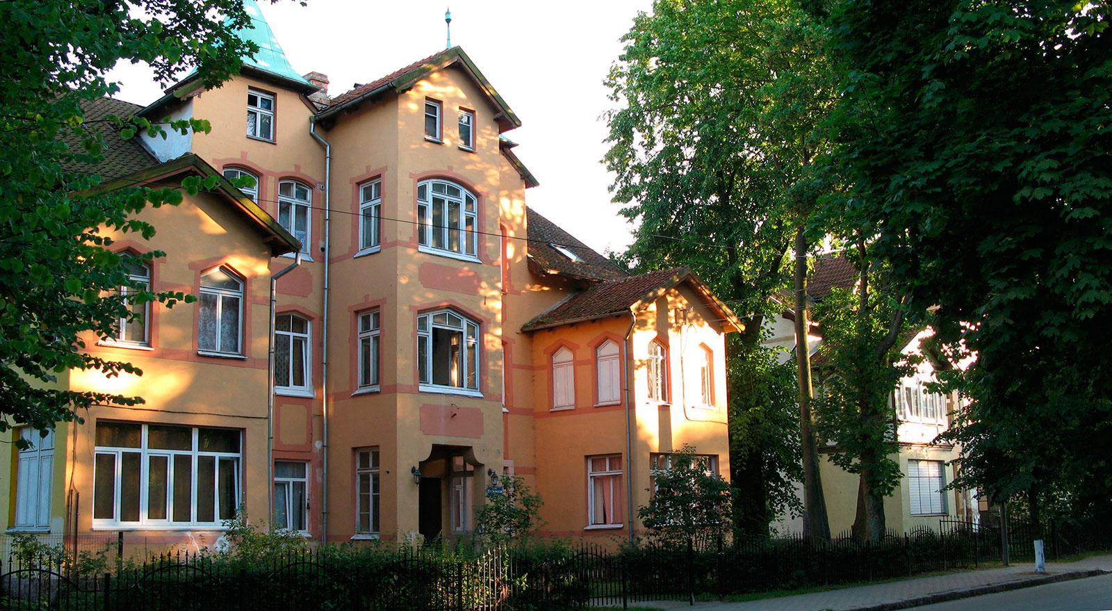 немецкий дом на улице Московская