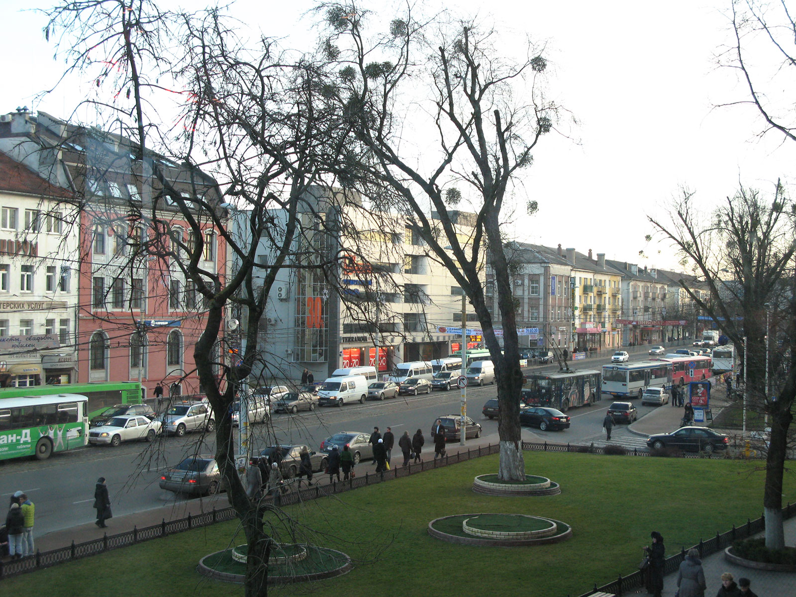 калининград в январе