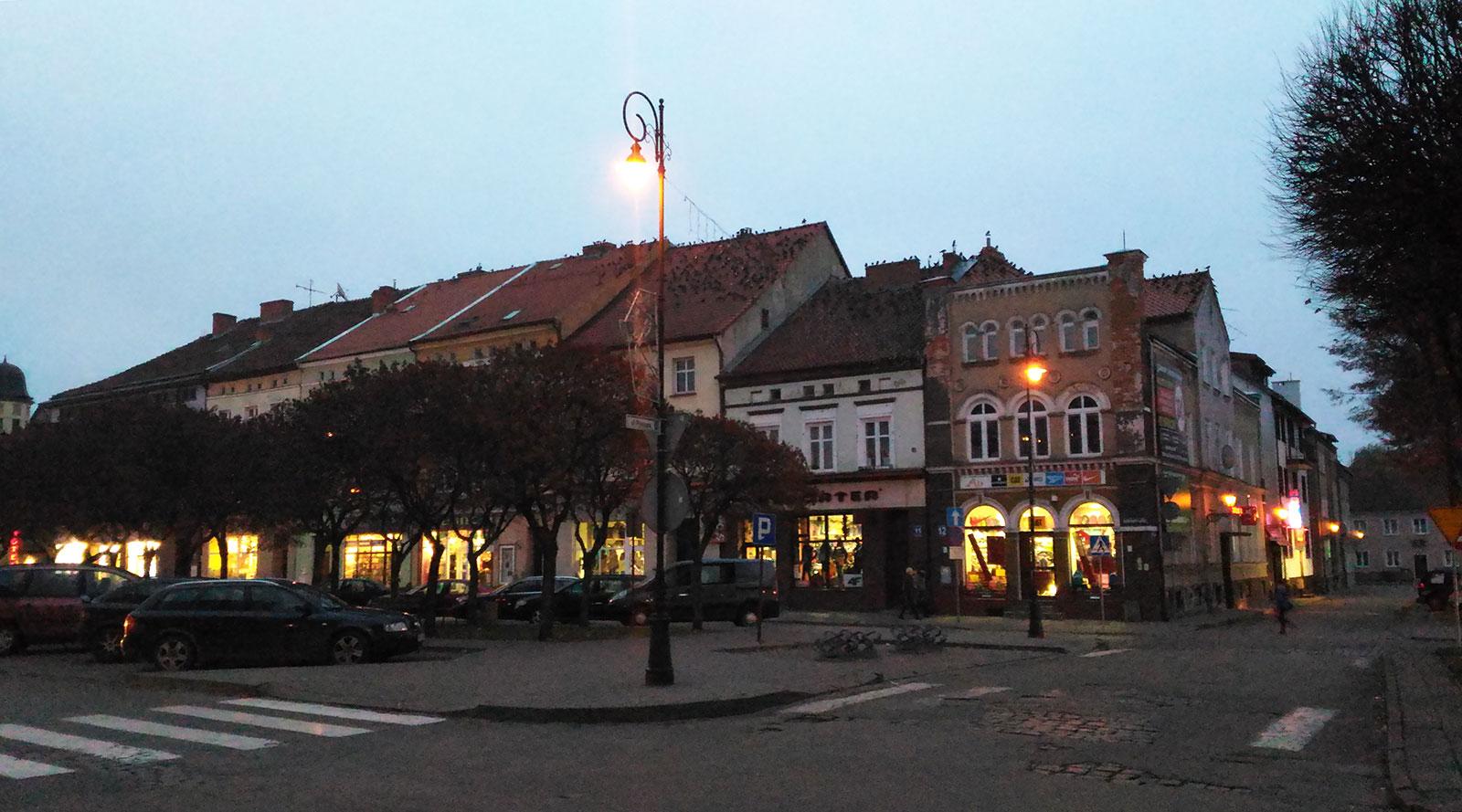 Дом на центральной площади Бартошице
