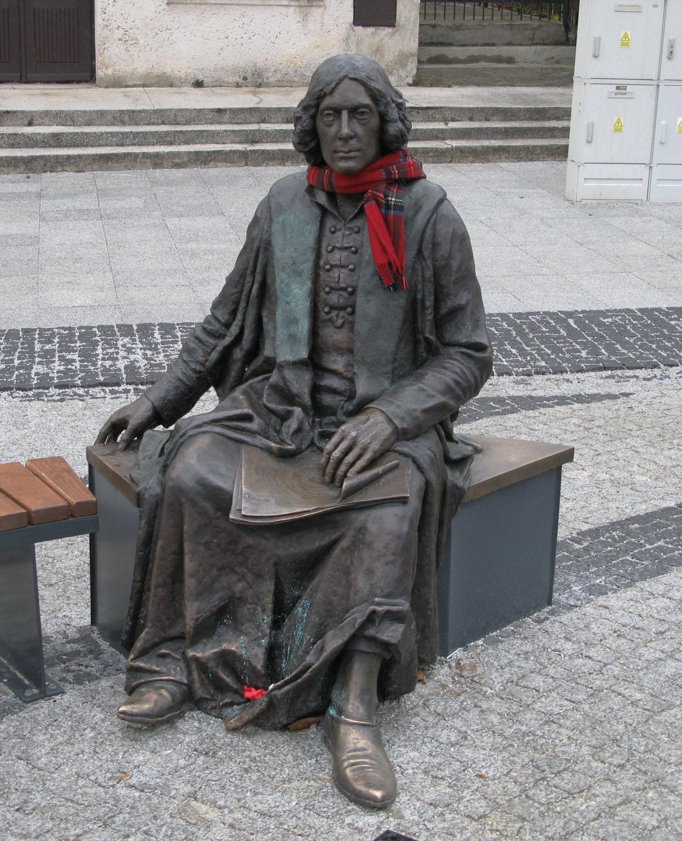 skulptura kopernika