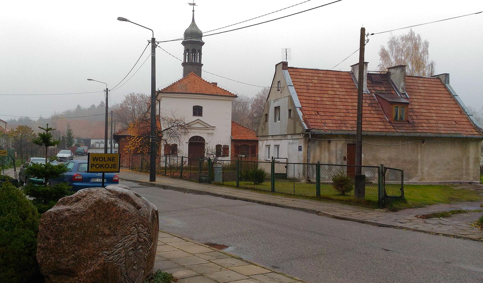 Улица во Фромборке