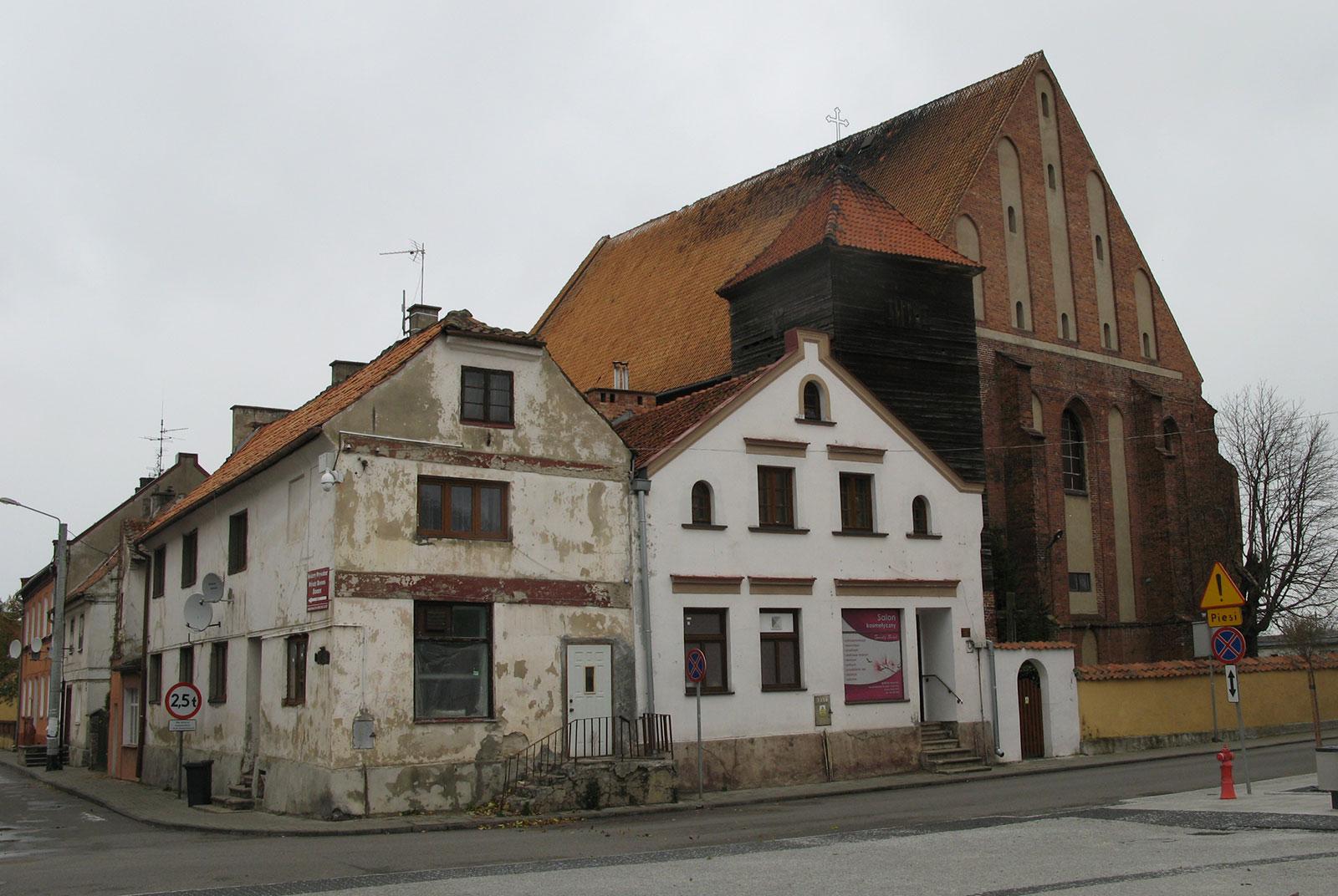 Улица во Фромборке Польша