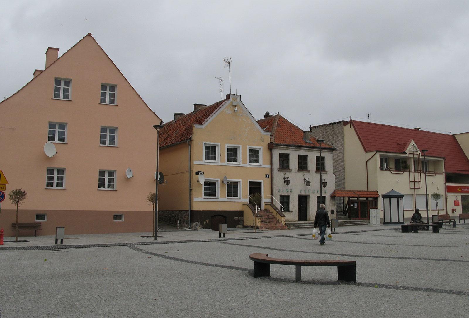 Центральная площадь во Фромборке (Польша)