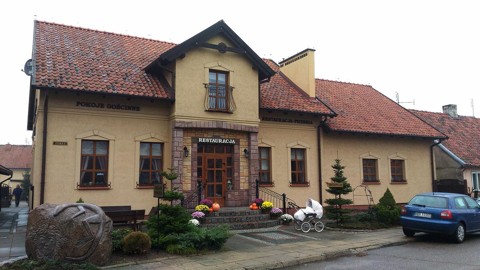 Отель Дон Роберто во Фромборке Польша