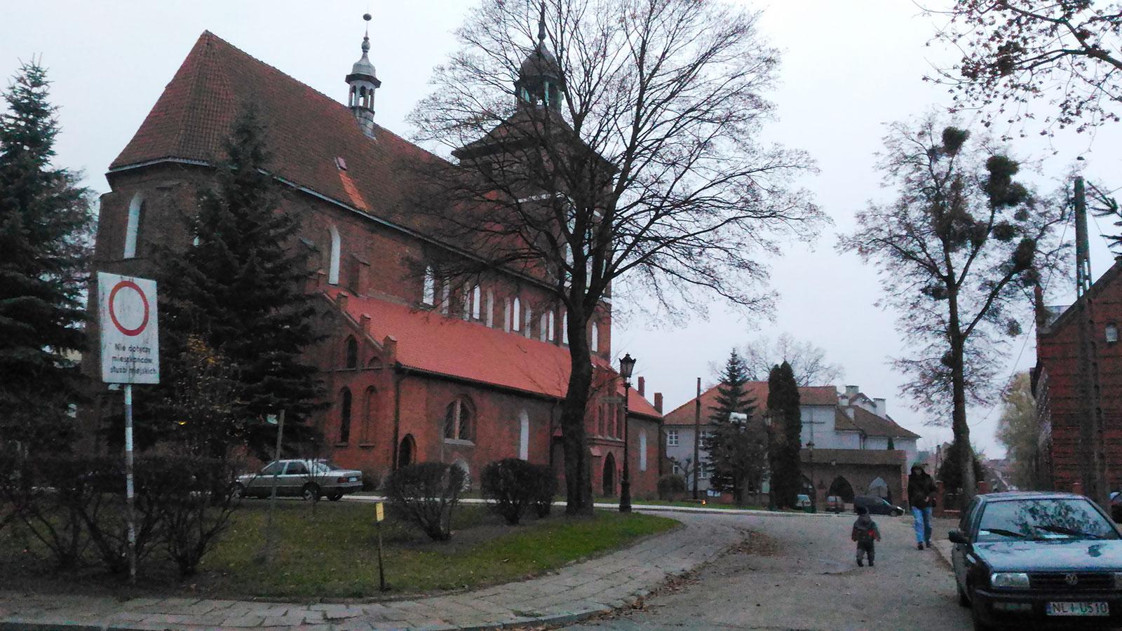 Костел Иоанна Богослова в Бартошице