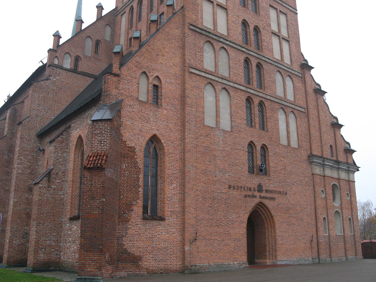 Базилика в Бранево, Польша