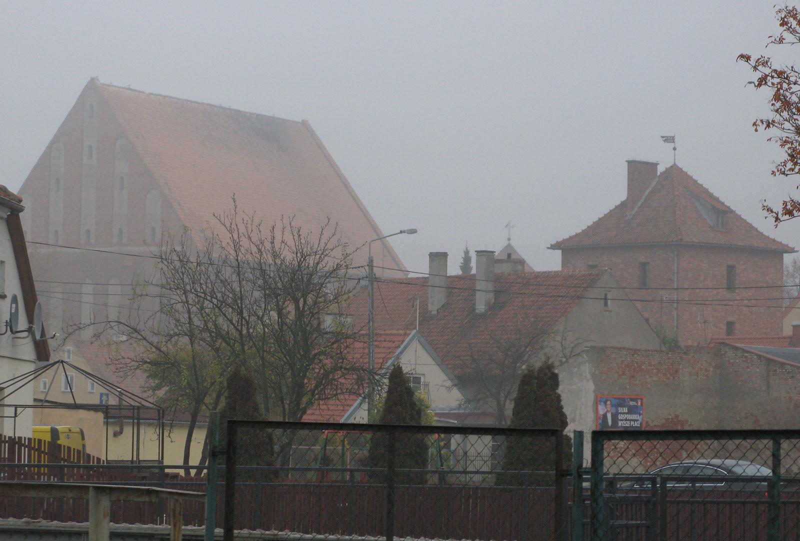 Польский город Фромборк