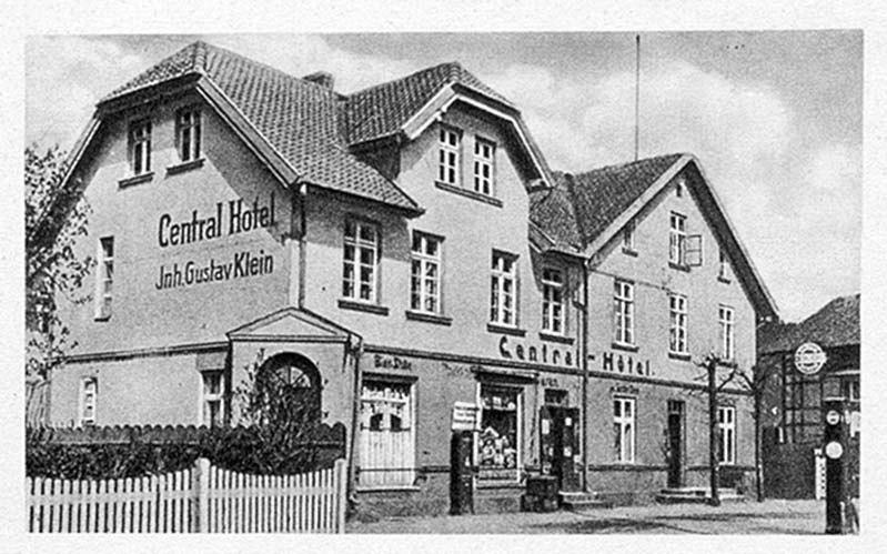 Гостиница Густава Кляйна, 1925 г.