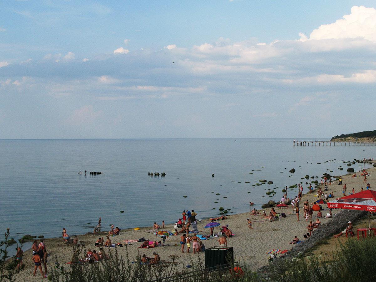 температура Балтийского моря летом