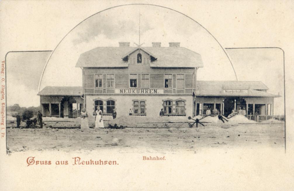 Вокзал в Нойкурене, 1895-1905