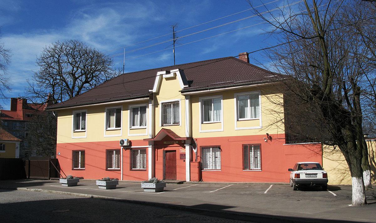 здание полиции в Пионерске
