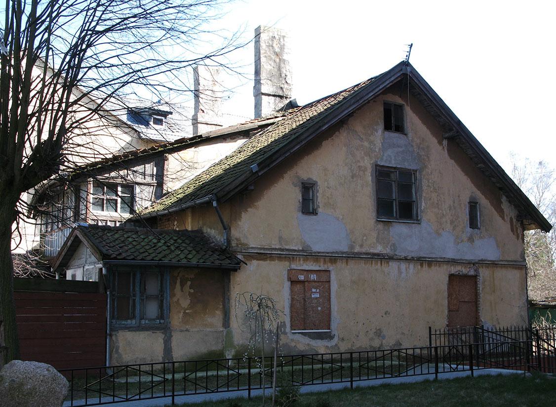 старый дом на Комсомольской