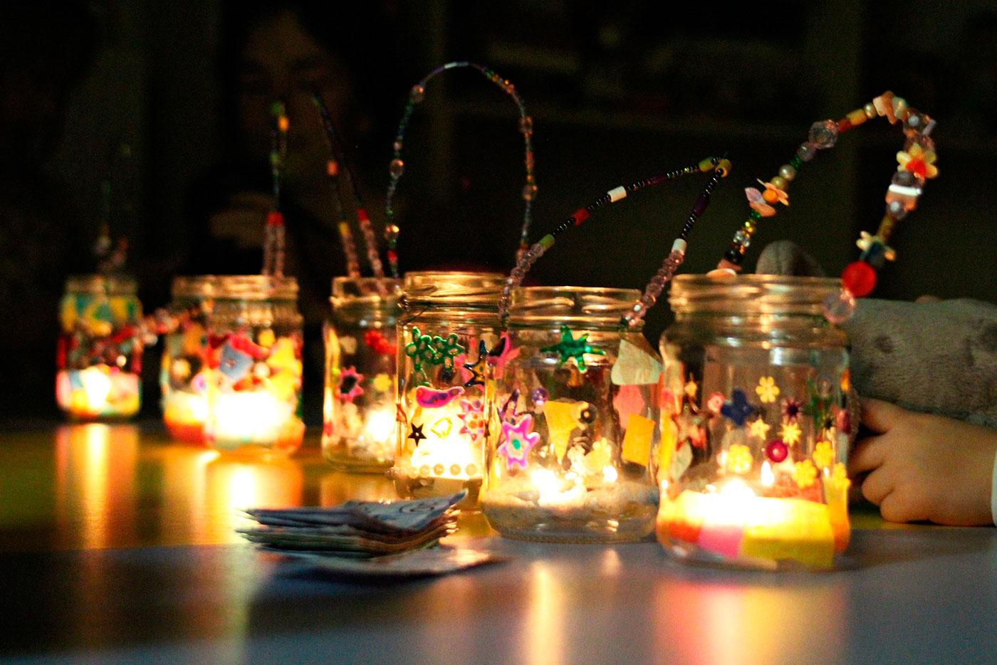мастер-класс волшебные фонарики
