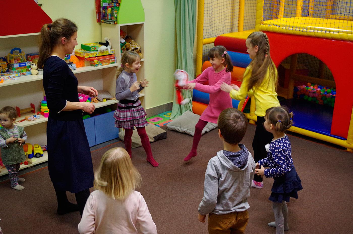 игры и занятия с детьми на Балтике