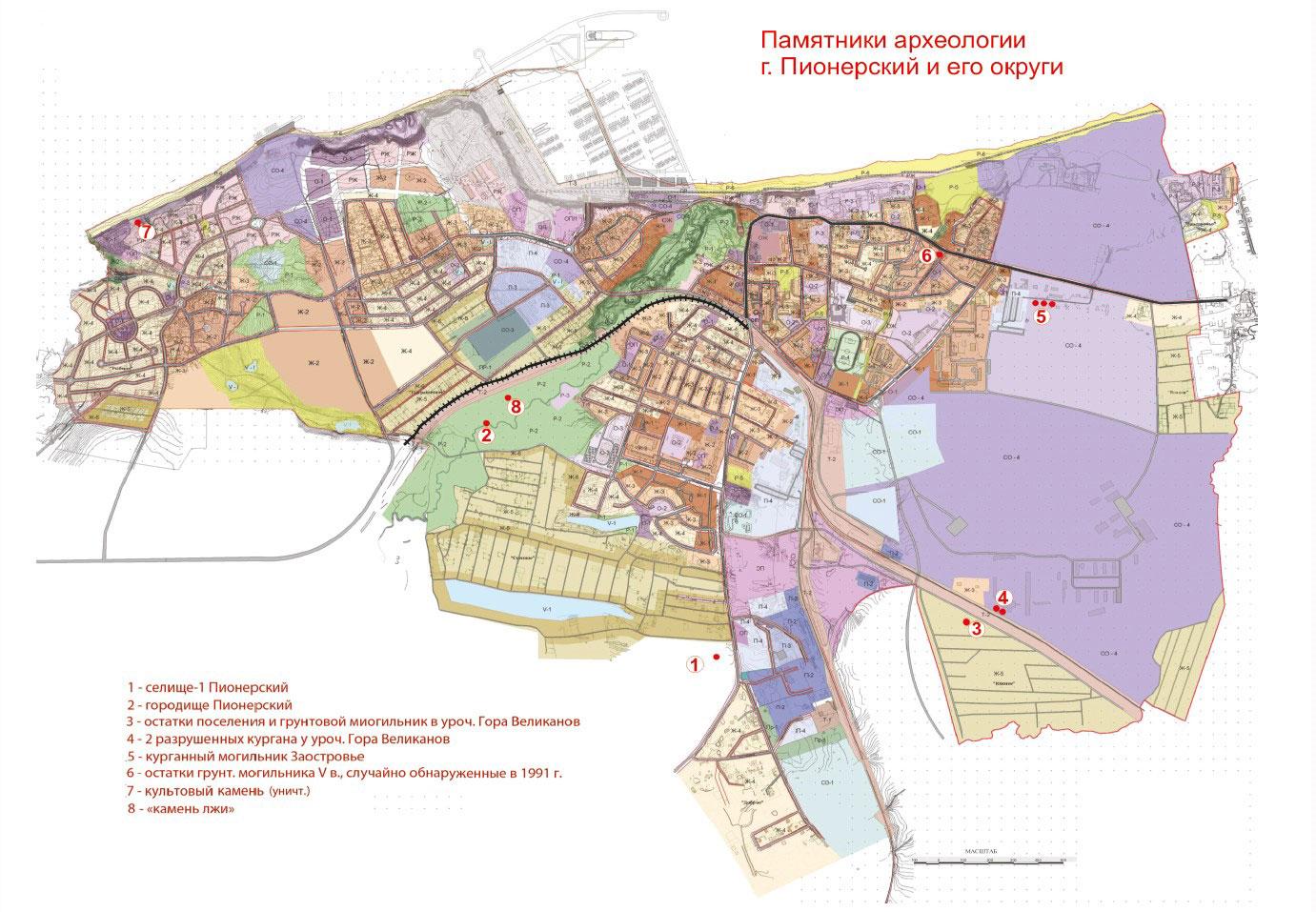 karta-pamyatnikov-arheologii-pionerskiy