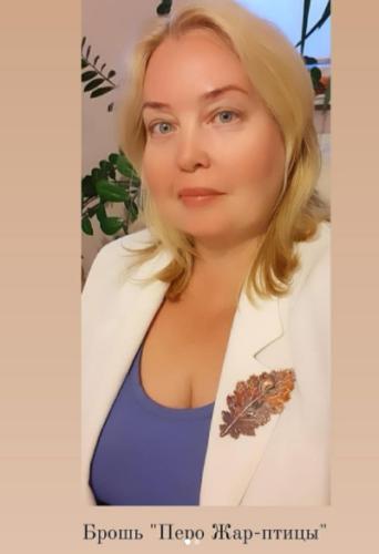 Мастер гальванопластики из Калининграда Ольга Яковлева